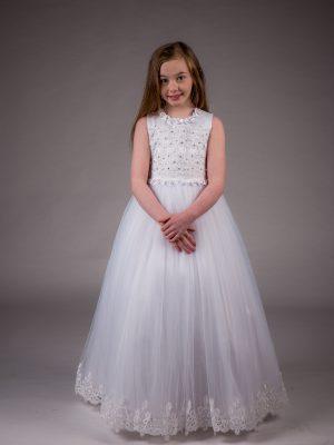 Communion Dresses Girls Communion Dress White Sarah