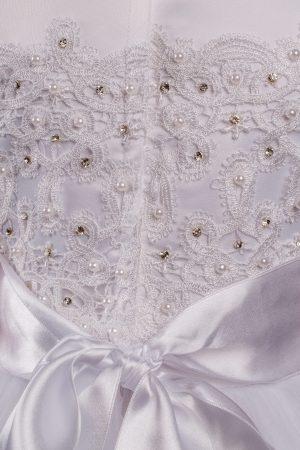 Girls Communion Dress White Sarah