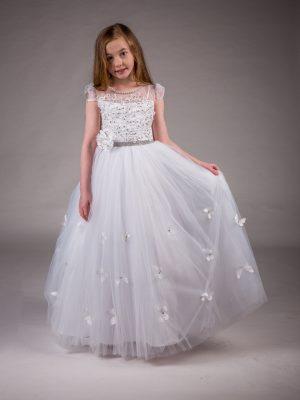 Communion Dresses Girls Communion Dress White Ellie