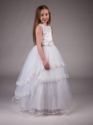 Communion Dresses Girls Communion Dress White Zoe