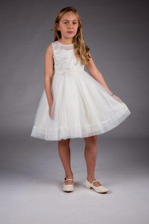 Girls Ivory Dress Juliet