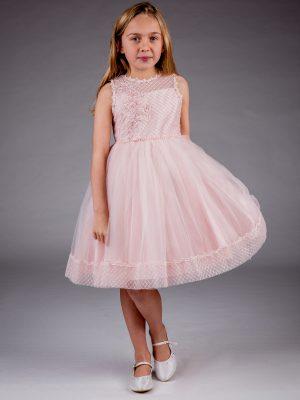 Flower Girl Dresses and Bridesmaid Dresses Girls Pink Dress Juliet