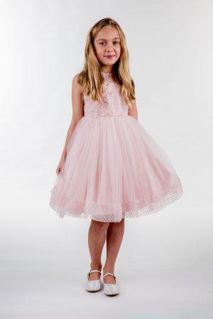 Girls Pink Dress Juliet