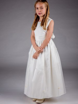 Flower Girl Dresses and Bridesmaid Dresses Girls Lucy Dress in Ivory