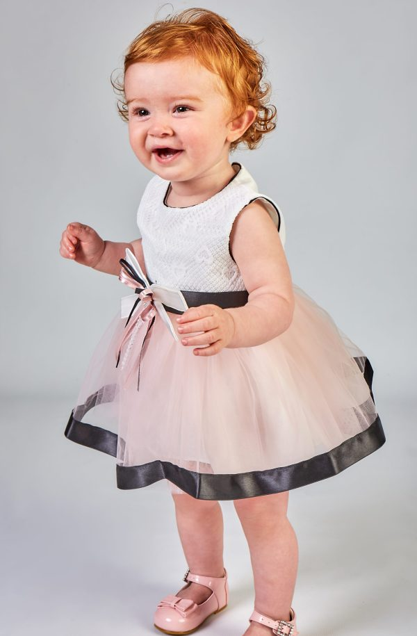Baby Girl Black and Pink Dress