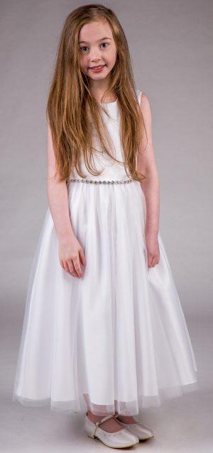 Girls White Dress Amy