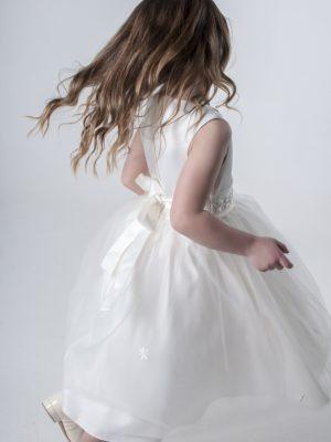 Flower Girl Dresses and Bridesmaid Dresses Girls Jasmine Dress in Ivory