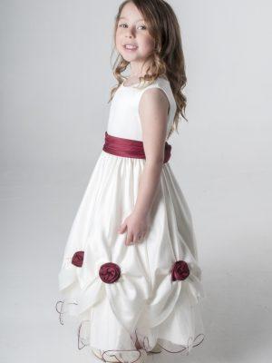 Flower Girl Dresses and Bridesmaid Dresses Girls Wine Dress Amelia