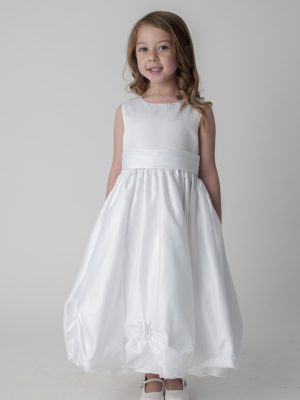 Flower Girl Dresses and Bridesmaid Dresses Girls White Dress Amelia