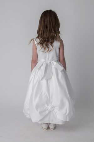 Girls White Dress Amelia