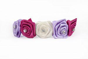 Rose Headband in Berry