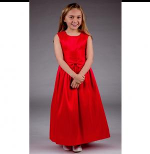 Girls Katie Dress in Red