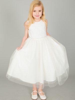 Flower Girl Dresses and Bridesmaid Dresses Girls Ivory Dress Anna