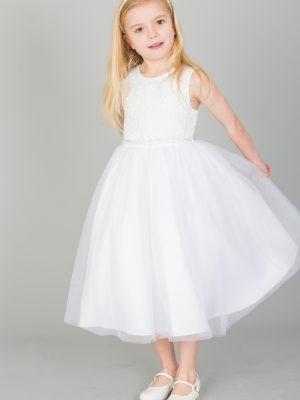 Communion Dresses Girls White Dress Anna