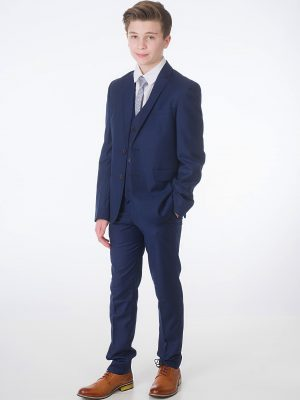 Baby Boys Suits Boys 5 Piece Navy Milano Mayfair Suit – Maxwell