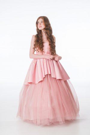 Girls Grace Pink Dress