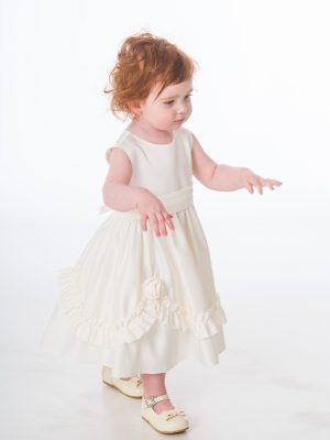 Baby Girls Dresses Baby Girls Ivory Laila Dress