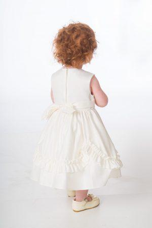 Baby Girls Ivory Laila Dress