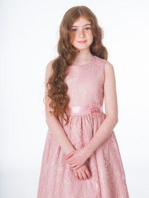 Flower Girl Dresses and Bridesmaid Dresses Girls Clara Rose Pink Dress