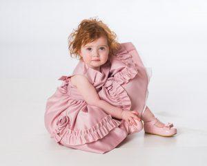 Baby Girls Rose Pink Laila Dress