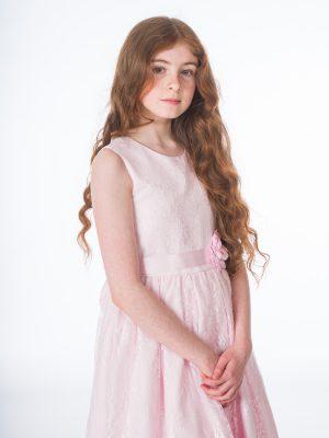 Flower Girl Dresses and Bridesmaid Dresses Girls Clara Pink Dress