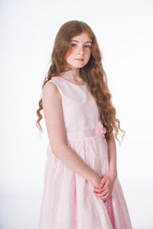 Girls Clara Pink Dress