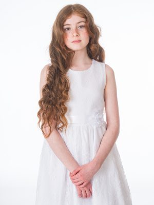 Communion Dresses Girls Clara White Dress