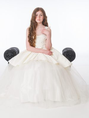 Flower Girl Dresses and Bridesmaid Dresses Girls Grace Ivory Dress
