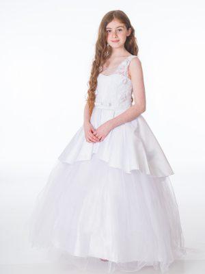 Communion Dresses Girls Grace White Dress