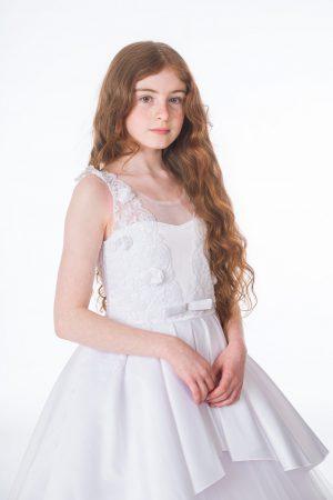 Girls Grace White Dress