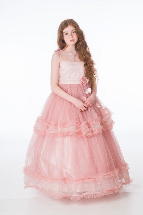Girls Maya Pink Dress