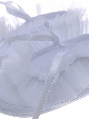 Girls Shoes Early Steps Girls White Ruffle Soft