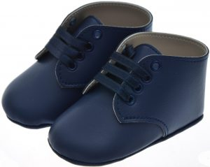 Early Steps Navy Baby Lace