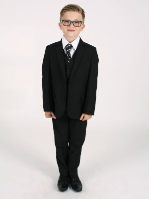 Boys 3 Piece Suits Boys 5 Piece Black Suit Bruce