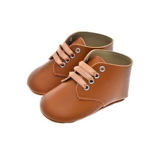 Early Steps Tan Brown baby Lace
