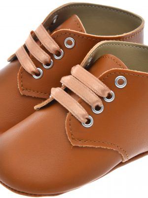Boys Shoes Early Steps Tan Brown baby Lace