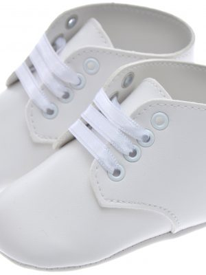 Boys Shoes Early Steps white baby Lace