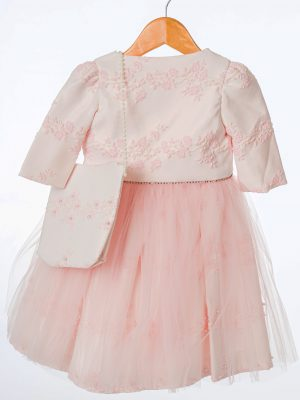 Girls Girls Pink Butterfly Jacket and Dress