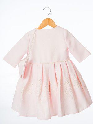 Girls Girls Pink Floral Dress and Jacket
