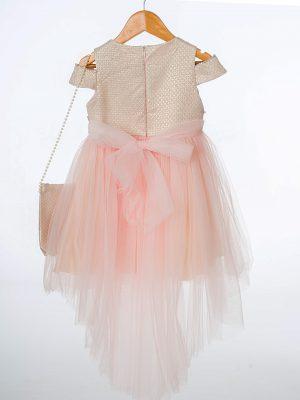 Girls Girls Pink Shimmer Dress