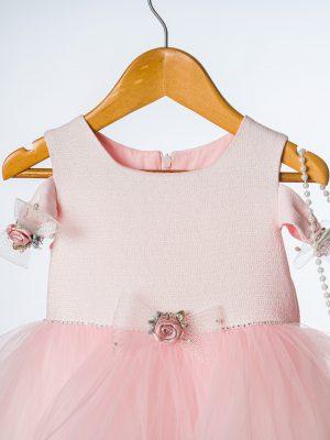Girls Girls Pink Rose Dress